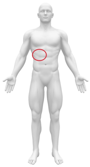 右上腹部痛み原因
