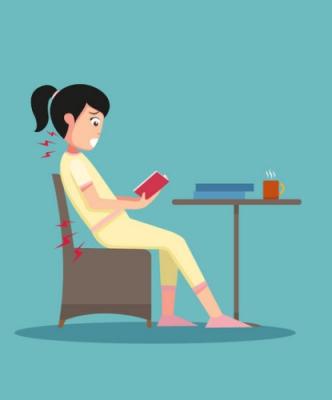 正しい姿勢の座り方 姿勢を良くする椅子 悪い姿勢